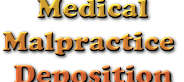 malpractice deposition