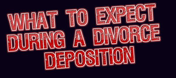 divorce deposition