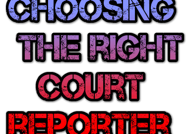 right court reporter