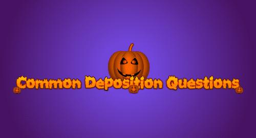 common deposition