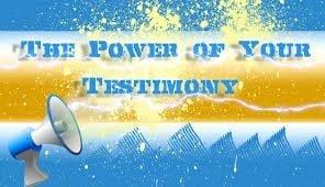 Testimony Tips